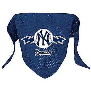 Hunter MFG New York Yankees Mesh Dog Bandana, Large