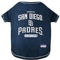 Pets First MLB San Diego Padres Dog Tee Shirt, Small