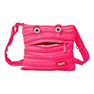 ZIPIT Monster Children Mini Shoulder Bag, Pink