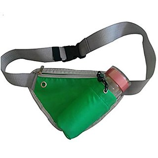 Running Belt, Waist Pack bag with Water Bottle (not include) holder ,shoulder bag,Multi-functional Travel Belt,Waist Bag