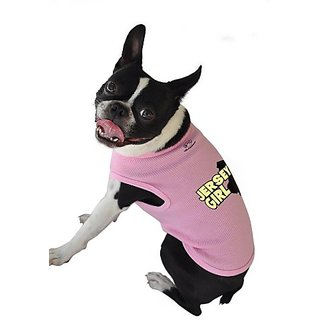 Ruff Ruff and Meow Doggie Bandana, Hug Me ,Pink, Medium