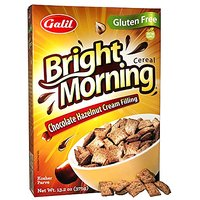 Galil Bright Morning Gluten-Free Chocolate Hazelnut Cereal, 13.22 Ounce (Pack Of 12)