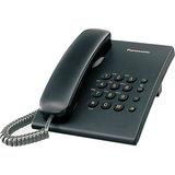 Panasonic KX-TS500MX Corded Landline Phone (Black)