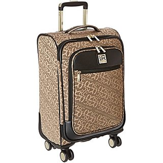 Kenneth Cole Reaction Copy That 20 Inch 8-Wheel Carry-On, Tan, One Size