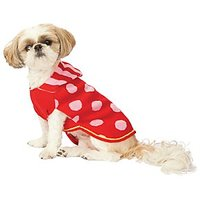 Fashion Pet (Ethical) Spot Hoodie Sweater Red Small