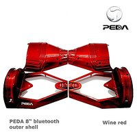 """PEDA New 8"""" Two Wheel Smart Self Balancing Electric Scooter Bluetooth 2 Wheels Replacement Case Outer Shell DIY Accessor"""
