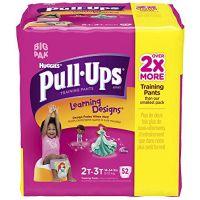 Huggies Pull-Ups Training Pants - Learning Designs - Girls - Big Pack - 2T-3T - 52 ct