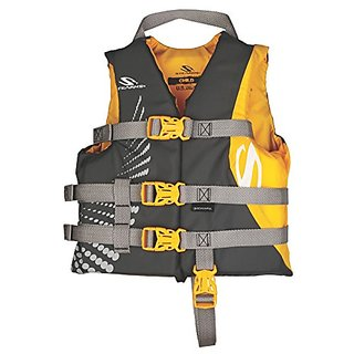 Stearns Antimicrobial Nylon Child Vest, Gold