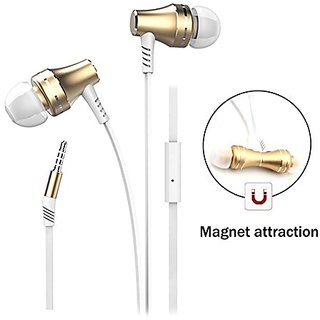 Earphones, Wired Headphones Magnetic In Ear Earbuds Noise Canceling Headset with Microphone Hands free Earphones for iPh