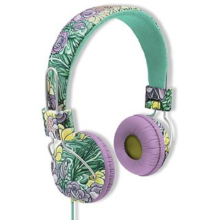 Ruthless Headphones with Mic - Roses (HP6403-101)