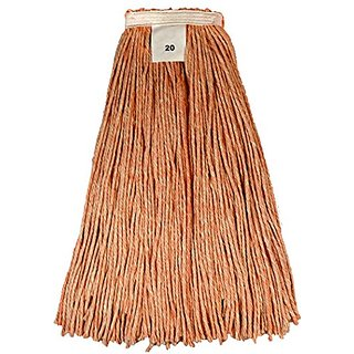 Golden Star AWQ1020O Quality Colors Blended Cut End Wet Mop (Pack of 12)