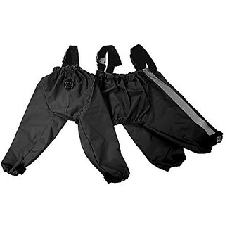 FouFou Dog 62565 Bodyguard Protective All-Weather Dog Pants, X-Large, Black
