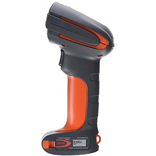 Honeywell 1910IER-3USB Granit 1910i 2D Industrial Corded Barcode Scanner, Extended Range Focus, Gray/Orange