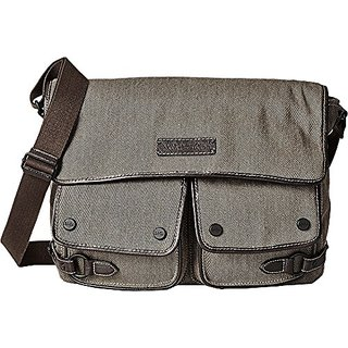Marc New York Mens By Andrew Rivington Messenger, Brown, One Size