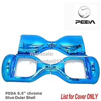 """PEDA New Chrome 6.5"""" Two Wheel Smart Self Balancing Electric Scooter 2 Wheels Replacement Cover Case Outer Shell DIY Acc"""
