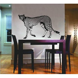 Decal Shop African Leopard Cheetah Jaguar Nursery Room Bedroom Decor Wall Art Removable Home Decor Vinyl Decal Sticker 2