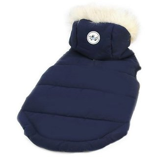 Petelligence Petel Dog Hoodie, Medium, Navy