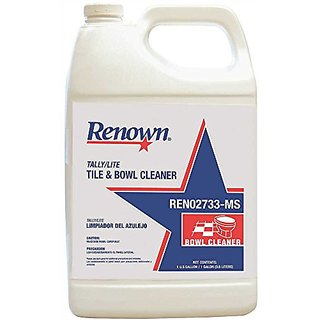 RENOWN GIDDS2-REN02733-MS Tile & Bowl Cleaner (4 Per Case), 1 gallon