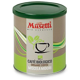 Musetti Coffee - Organic Midori Biologico - 250 g (8.8 oz) Ground