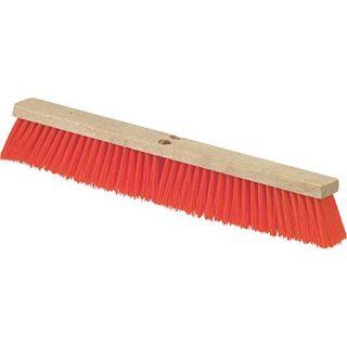 Carlisle 36762424 Flo-Pac Hardwood Block Floor Sweep with Brace, Heavy Polypropylene Bristles, 3-1/4