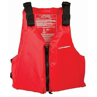 Extrasport Fleet Universal Adult Type III Red PFD