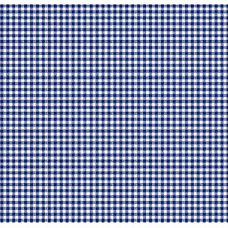 SheetWorld c-w541-SET c-w541-SET Crib / Toddler Sheet - Primary Navy Gingham Woven - Made In USA