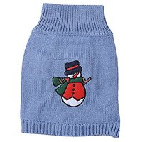 JJ Store Pet Puppy Cute Christmas Knitwear Coat Jumper Sweater Apparel Clothes For Small Medium Dog