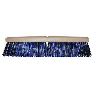 Magnolia Brush 6424 Heavy Duty Street Broom, Plastic Bristles, 4-1/4