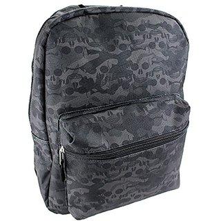 Classic 16 Inch Backpack (Skulls Black)