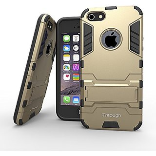 iPhone 5S Case, iThroughTM iPhone 5S Protection Case with Stand Function, Heavy Protective Cover Carrying Case for iPhon