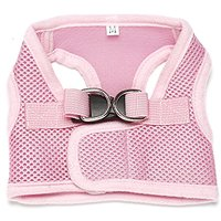 Fashion Shop Mesh Cloth Ventilate Pet Vest Harness For Dogs 5colors 5sizes For Choose (Pink, M)