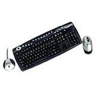 Micro Innovations RF Wireless Multimedia Keyboard & Mouse (KB985W)