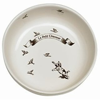 Le Petit Chasseur (Little Hunter) Ceramic Pet Bowl