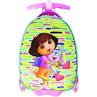 Nickelodeon Dora the Explorer Carry On Convertible to Scooter w Bonus Dora Notebook