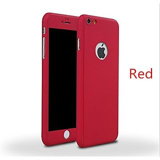 iPhone 5/5S Full Body Hard Case--Inspirationc 360 All Round Protective Case for iPhone 5/5S--Red