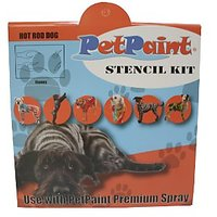 PetPaint Hot Rod Dog Stencil Kit, Pack Of 10