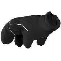 Hurtta Collection 12-Inch Micro Fleece Jumpsuit For Pets, X-Small, Black