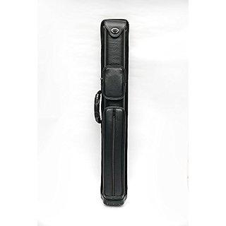 2x4 Pro 2B4S Combo Cue Case - 2 Butt / 4 Shaft - Black Leatherette