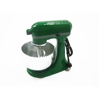 Dollhouse Miniatures GREEN APPLE KITCHENWARE Electric Bakery Mixer 9568