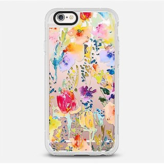 Clear from the Garden iPhone 6 Case by Casetify Best iPhone 6 Covers (4.7 Inch) With Interchangeable Back Plates & Retai