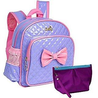 kilofly Kids Preschool Kindergarten Little Girl School Backpack + Zippered Pouch