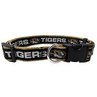 Mirage Pet Products Missouri Tigers Collar For Dogs And Cats, Large