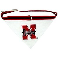 Mirage Pet Products Nebraska Corn Huskers Bandana For Dogs And Cats, Small