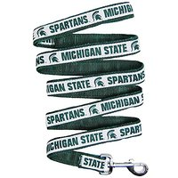 Mirage Pet Products Michigan State Spartans Leash For Dogs And Cats, Medium