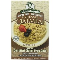 Glutenfreedas Instant Oatmeal, Natural, Natural, 10.5-Ounce Boxes (Pack Of 8)