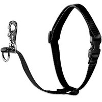 """LupinePet Basics 3/4"""" Black 16-26"""" No Pull Harness For Small-Medium Dogs"""
