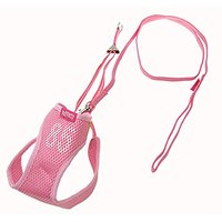 Puppy Dog Vest Harness W/ Leash Nylon Mesh Size 4