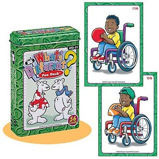 Whats Different? Fun Deck Cards - Super Duper Educational Learning Toy for Kids
