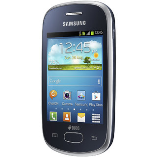 Samsung Galaxy Star 5282 GT S5282 Dual SIM (Black) With FREE gifts available at ShopClues for Rs.3899