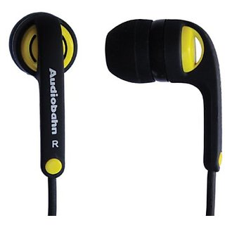Audiobahn AEP220J Chron Earphones with 10mm Driver